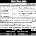 The Cadet College Pasrur Sialkot Jobs