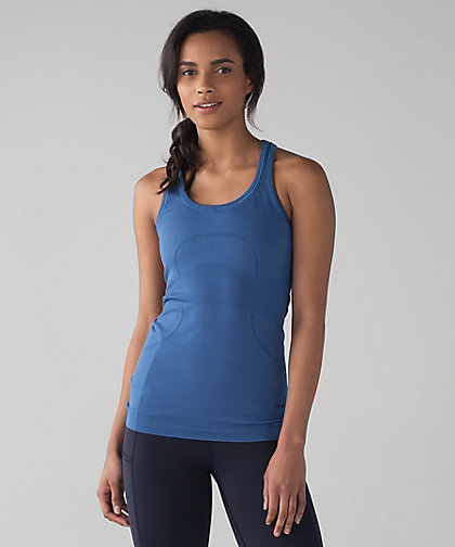 lululemon royal-blue swiftly-tank