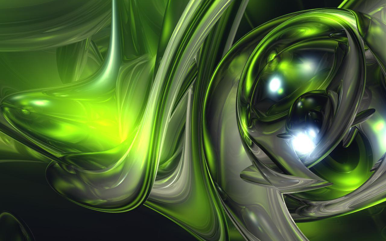 Green Abstract HD Wallpapers