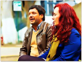 La Ultima Tarde - Ramon (Lucho Cáceres) e Laura (Katerina D'Onofrio) Conversam em Miraflores