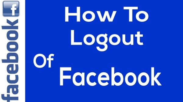logout facebook account
