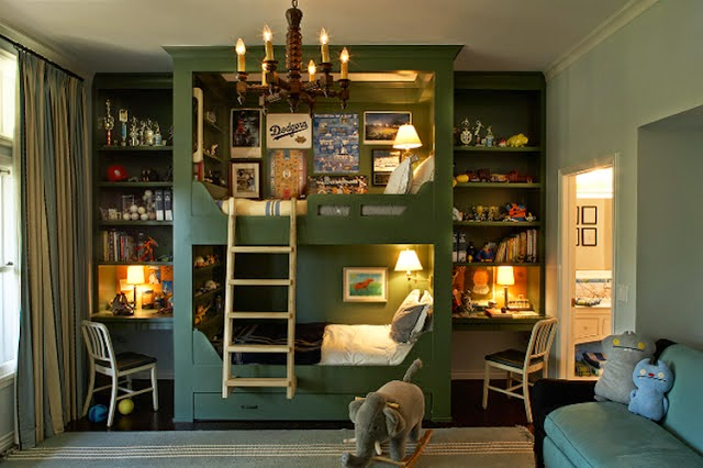 I Feel Like Ve Posted About This Before Maybe Because Pinned It Years Ago But Deserves Another Go Around S The Best Designed Bunk Bed