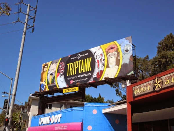 TripTank series launch billboard