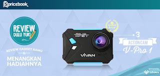 Review Gadget Kamu dan menamngkan 3 Action Camera Vivan V-Pro 1