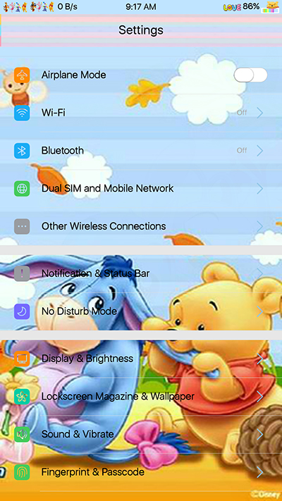 Oppo Theme:Oppo F3|F3 Plus Pooh Theme