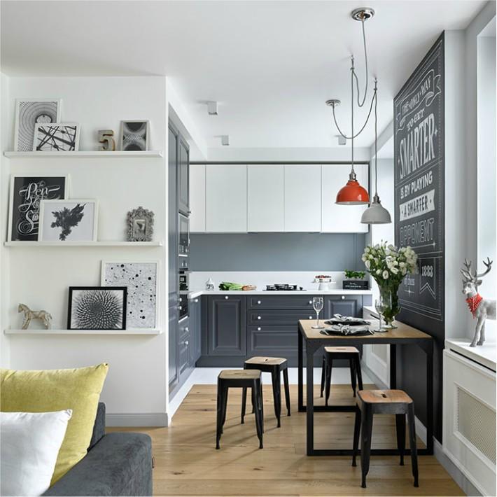 Un apartamento con detalles y ambiente desenfadado