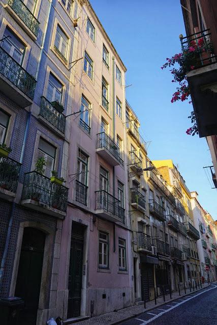 リスボン街並み