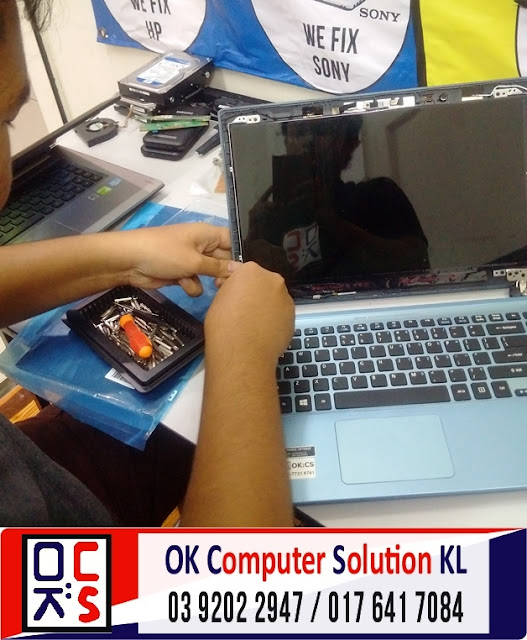[SOLVED]SKRIN LAPTOP ACER V5-471 RETAK |REPAIR LAPTOP AMPANG 2