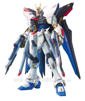 Strike Freedom Gundam ZGMF-X20A Master Grade (MG) 1/100 Model Kit Mobile Suit Gundam SEED DESTINY