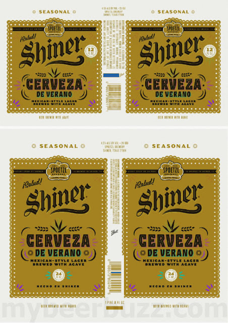 Shiner Working On Cerveza De Verano Mexican-Style Lager 24oz Cans