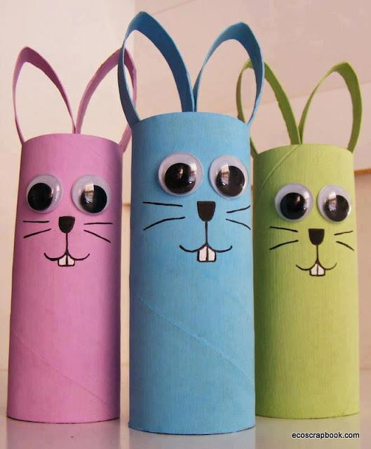 manualidades conejos pascua
