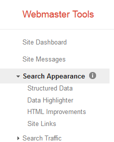 Search Appearance Tools