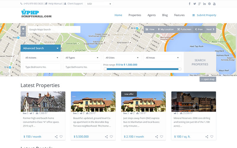 Open Source Real Estate Agency Script - PHP Scripts Mall