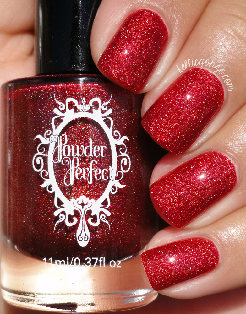 Powder Perfect Sophisticated Santa