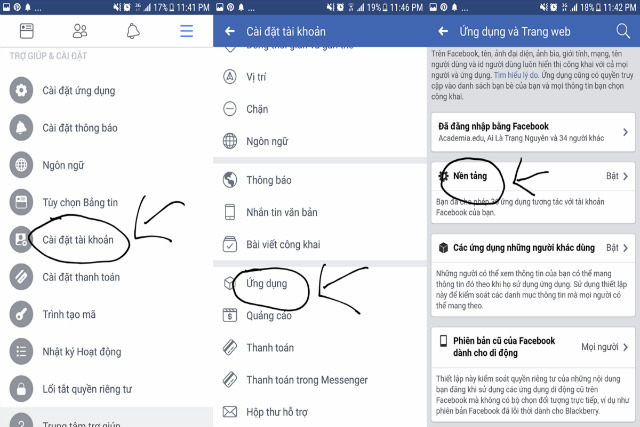 cách chặn mời chơi game trên facebook bằng điện thoại 3