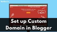 ब्लॉगर में अपना Custom Domain कैसे सेटअप करें