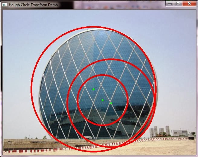 Learn OpenCV by Examples: Hough Circle Detection