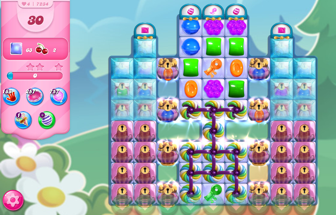 Candy Crush Saga level 7234