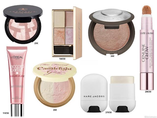 strobing - technique de maquillage - produits de beauté - astuce beauté - astuce maquillage - enluminateur