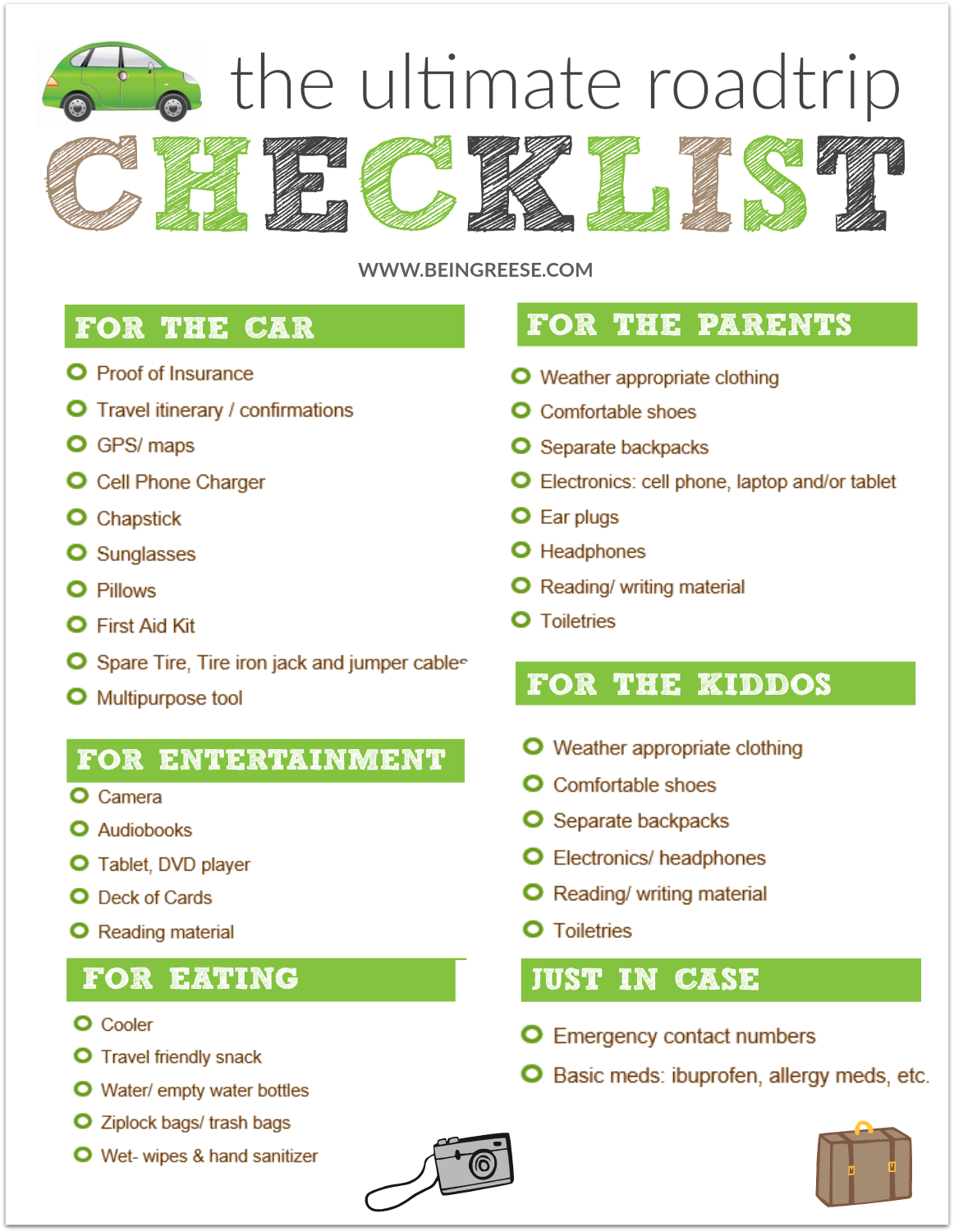The ultimate road trip with kids checklist