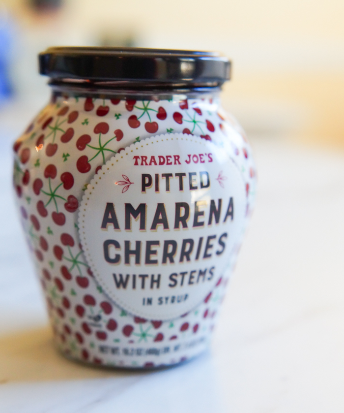 Amarena Cherries from Trader Joe's