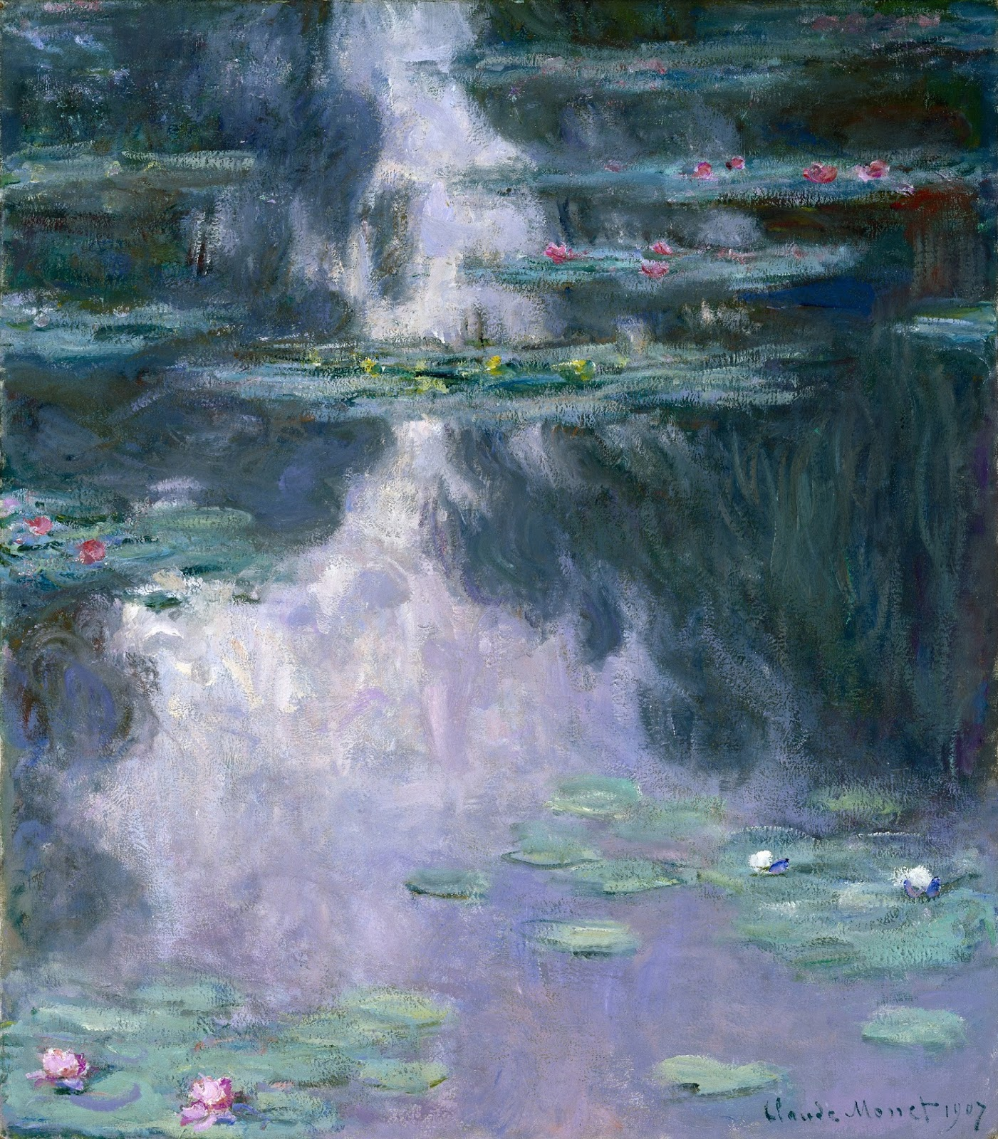 art eyewitness art eyewitness review mystical landscapes from claude monet water lilies nympheacuteas 1907