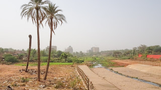 Niamey is devastaded every year by floods