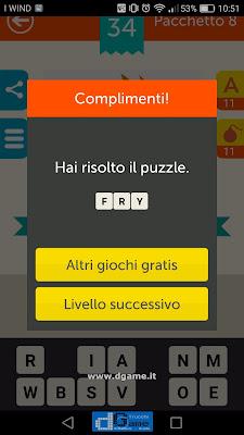 Mega Quiz soluzione pacchetto 8 livelli 34-60