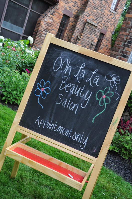 Summer Fun {Ooh La La Beauty Salon}