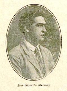 Fotografía de José Monclús publicada en la portada de la revista literaria Los Quijotes (1917)