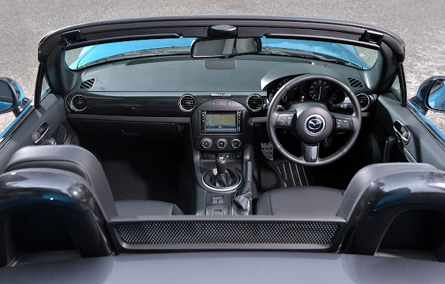 Limited Edition Mazda MX-5 'Sport Graphite' interior