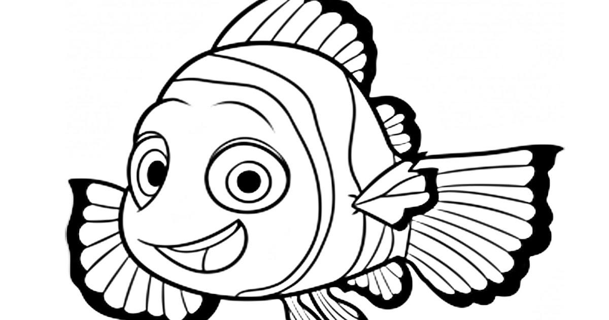 Dibujos Para Colorear: Pinto Dibujos: Nemo Para Colorear