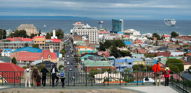 City of Punta Arenas, Chile.