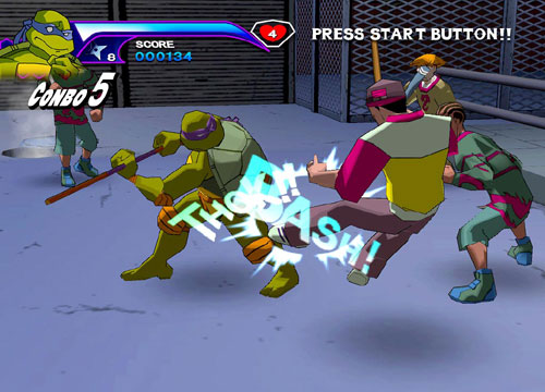 لعبة الاطفال سلاحف النينجا Teenage Mutant Ninja Turtles للكمبيوتر مجانا