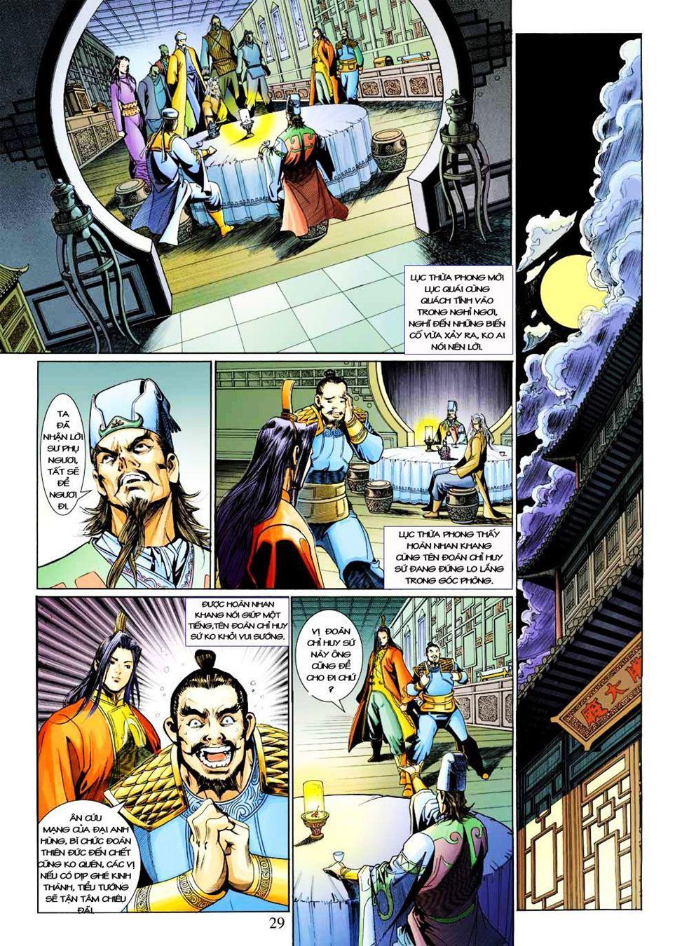 Anh Hùng Xạ Điêu anh hùng xạ đêu chap 33 trang 29