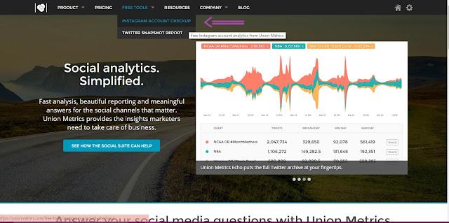 help bloggers 3 - recursos para blogs - instagram - union metrics - Tamaravilhosamente