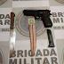 Adolescente de 17 anos é apreendido pela BM com simulacro de arma de fogo em Bossoroca