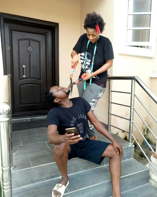 Klint da Drunk and wife Lilien goof around in adorable photos