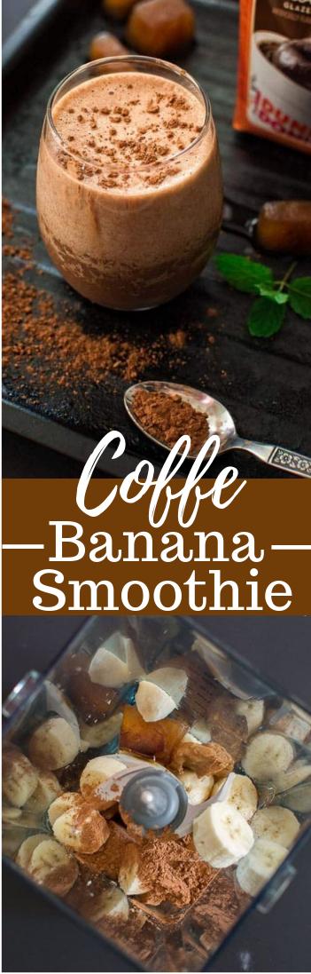 COFFEE BANANA SMOOTHIE #coffeedrink