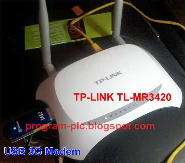 TP-LINK TL-MR3420 with USB 3G Modem