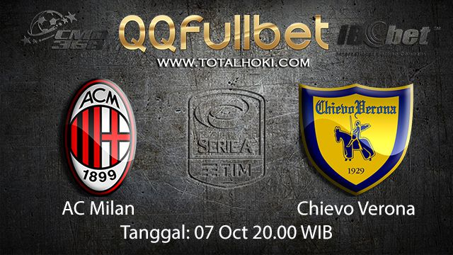 Prediksi Bola Jitu AC Milan vs Chievo 07 October 2018 ( Italian Serie A )