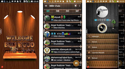 BBM Mod Beta Wood Themes