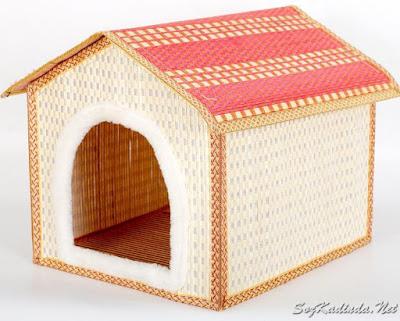 hasır köpek evii