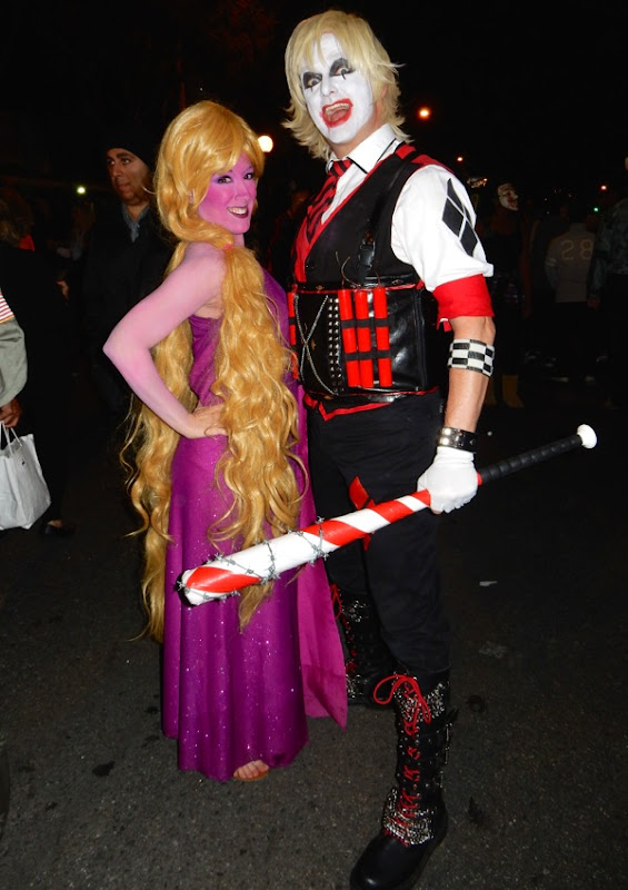 West Hollywood Halloween Male Harley Quinn costume