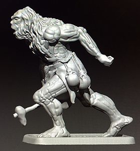 MZ629 Snow Troll Miniature preview by Mithril Miniatures