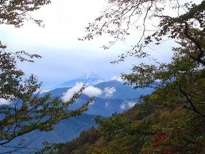 七ツ石山からの富士山