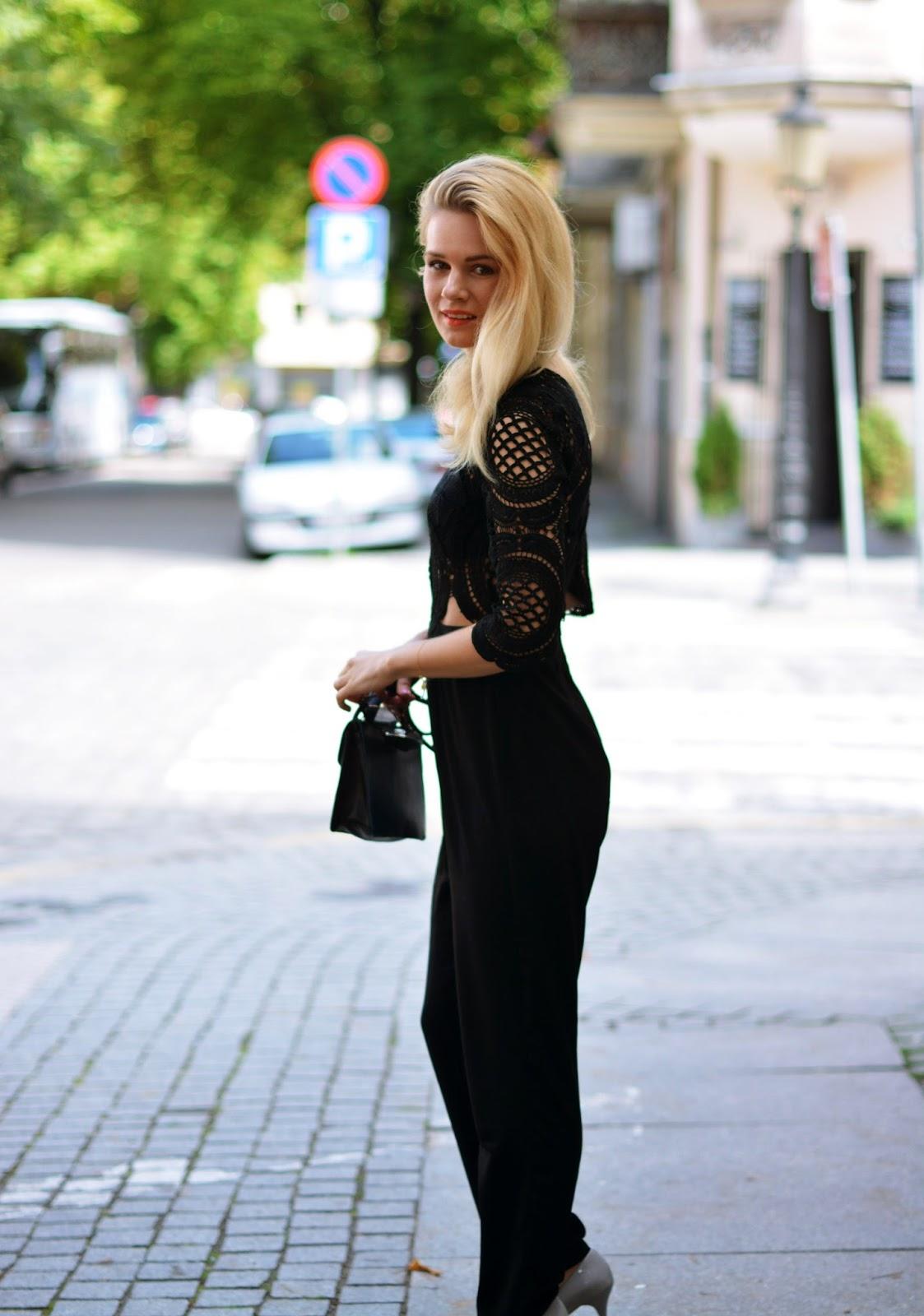 koronka, kombinezon, elegancki, koronkowy, stylowy, stylizacja, blog, blogger