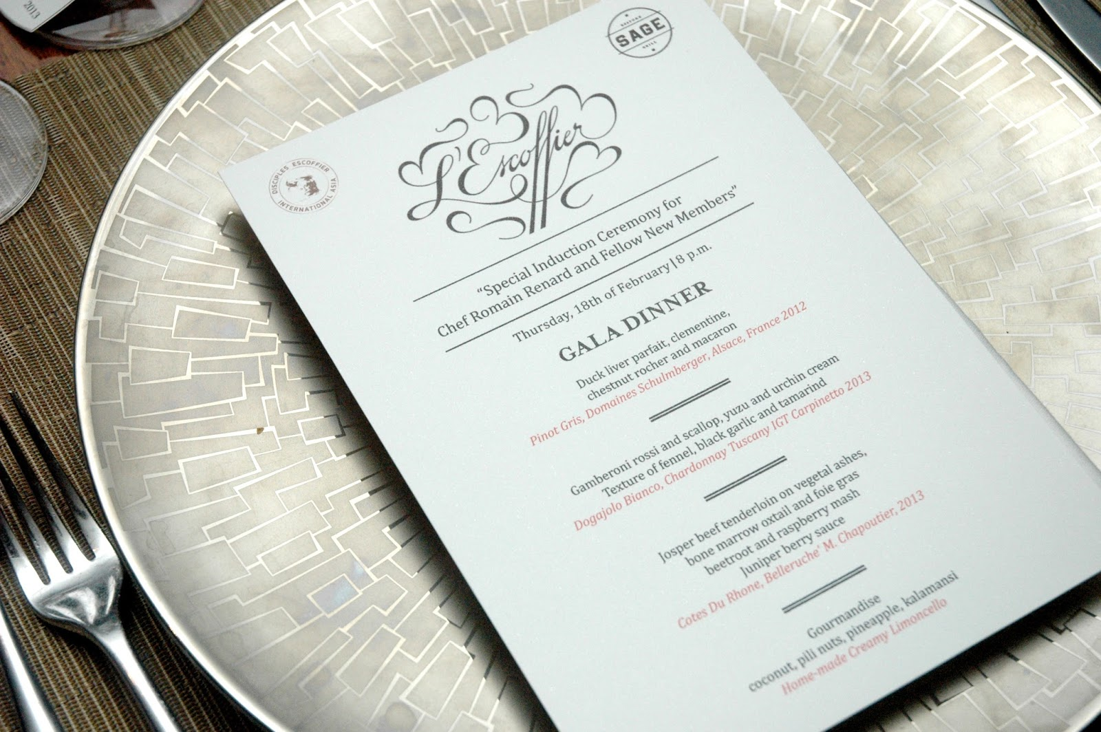 Gala Dinner\