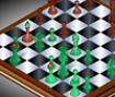Jogo de xadrez 3D, mostre toda sua habilidade.
