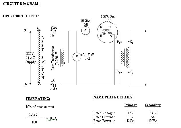 Pleasing Circuit Diagram Of Single Phase Transformer Electrical Wiring Wiring Cloud Peadfoxcilixyz